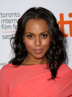 Kerry Washington- pretty cheeks