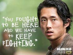 The Walking Dead Glenn