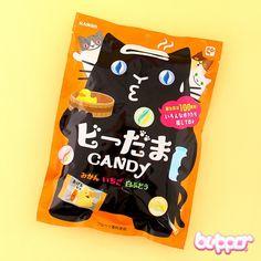 Kanro Neko Marbles Shape Fruit Mix Candy