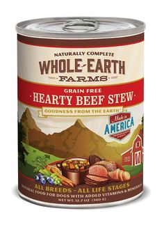 Whole Earth Farms Grain Free Hearty Stew >>> Startling review available here  : Best dog food