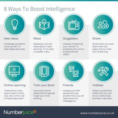 8 ways to boost your IQ Business Tips, Challenges, Learning, Day, Study, Teaching, Studying, Education