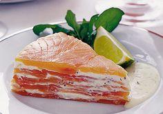 Salmon terrina