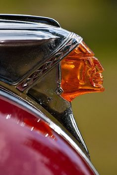 Pontiac Chieftain Hood Ornament - they couldn't make this these days even if they wanted to.........