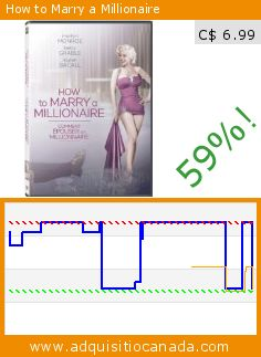 How to Marry a Millionaire (DVD). Drop 59%! Current price C$ 6.99, the previous price was C$ 16.98. http://www.adquisitiocanada.com/20th-century-fox-home/how-marry-millionaire-1