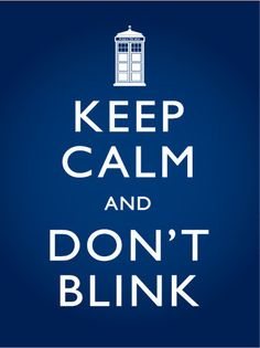 Don't blink. Blink and you're dead.