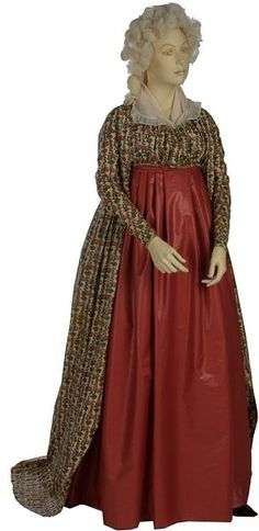 Old Rags, lot's of info on antique clothing on this site