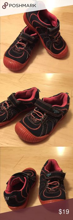 Oshkosh girls shoes size 11 Used but great condition, pink and blue color. OshKosh B'gosh Shoes Sneakers