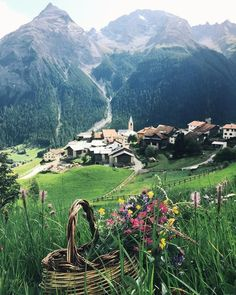 In Berguen, Switzerland.