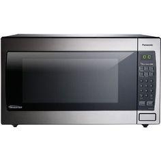 Panasonic 2.2 Cu. Ft. 1250W Countertop Microwave with Genius Sensor and Inverter Technology
