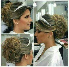 #cabelo #penteado #noiva #casamento