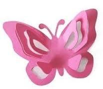 mariposas en cartulina para decorar - Buscar con Google