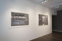Germán Gómez, Deconstructing Cities & Duos, 2014, Installation View #GermanGomez #BridgetteMayerGallery