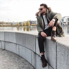 REboot Winter with Style! Bull Boxer, Fall Winter, Autumn, Bomber Jacket, Winter Jackets, Men Boots, Street Style, Coat, Shoes