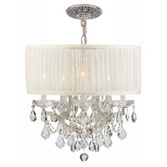 Buy the Crystorama Lighting Group Polished Chrome Direct. Shop for the Crystorama Lighting Group Polished Chrome Brentwood 6 Light Wide Drum Chandelier with Clear Hand Cut Crystals and save. Drum Shade Chandelier, Crystal Chandelier Lighting, Crystal Lights, Chandelier Ideas, Crystal Chandeliers, Pendant Chandelier, Modern Chandelier, Crystal Pendant, Crystal Ceiling Light