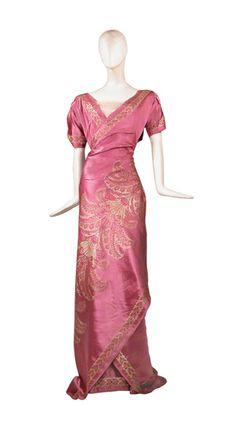 Circa 1910 Gown by Farquharson & Wheelock.