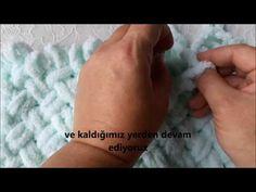 Puffy battaniye Hasır desenli bebek battaniyesi - YouTube Finger Knitting Blankets, Knitted Blankets, Baby Knitting, Finger Crochet, Easy Crochet, Cute Blankets, Yarn Projects, Butt Workout, Free Pattern