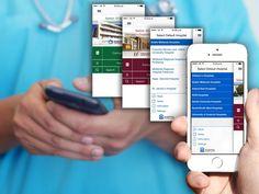 Hospital Contact Flat Design, App Design, Saint James, Santiago, Flat Web, Application Design, Condo Design, Apartment Design