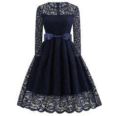 LISTHA Lace Up Skull Hepburn Dress Women Print Punk Style Big Swing Party Dress