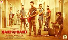 """Here comes another poster of Aadar Jain and & Anya Singh's debut film """"Qaidi Band""""."""