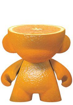 Mini Munny Orange Pure Premium