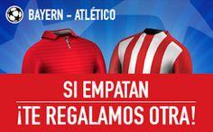 el forero jrvm y todos los bonos de deportes: sportium promocion Bayern vs Atlético empate devol...