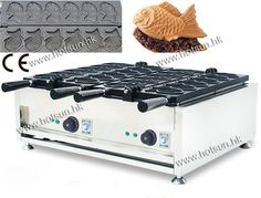 348.00$  Buy here - http://aliky9.worldwells.pw/go.php?t=32710714793 - 12pcs Fish Waffle Commercial Use Non-stick 110v 220v Electric Taiyaki Baker Machine Maker Iron