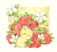 strawberries by ~Melonkitten