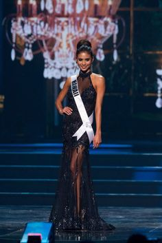 miss hawaii, miss usa, pageant evening gown