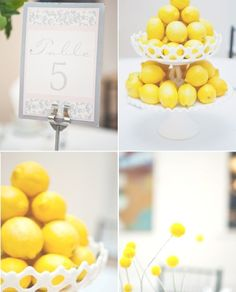Gorgeous wedding with yellow and grey color scheme.    Milkglass and other rentals provided by Finch Vintage Rentals in St. Louis, MO  Photos by Laura Ann Miller Photography  All rights reserved.
