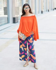 cdec1b096799 Pretty DEEMA AL ASAADI in orange ...looks amazing from RIVA ❤. Riva Fashion