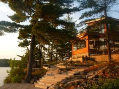 Muskoka's Premier Luxury Private Island Experience: 6 BR Vacation Cottage for Rent in High Lake , Ontario | HomeAway.ca