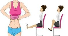 Simple Exercises to Reduce Hanging Lower Belly Fat - hiit workout 10 Exercises for a Flat Belly and a Thin Waist You Can Even Do While Sitting in a Exercises for a Flat Belly and a Thin Waist You Can Even Do While Sitting in a Chair Weekly Workout Plans, At Home Workout Plan, At Home Workouts, Lower Belly Fat, Lose Belly, Flat Belly, Flat Tummy, Flat Stomach, Belly Fat Workout