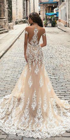 Unique Lace Wedding Dresses That Wow ★ See more: https://weddingdressesguide.com/unique-lace-wedding-dresses/ #bridalgown #weddingdress