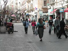 Reason #65 candidate: Stroll down Ben Yehuda Street and run into at least 10 people that you know.  Helen S. #65reasons #JFNAGA