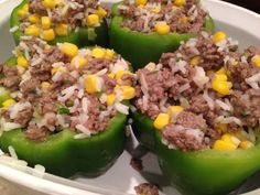 delicious and healthy stuffed bell peppers