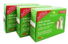 BIOCYTE KERATINE FORTE SERUM LOT DE 3X5 AMPOULES - Kératine Forte Sérum de BIOCYTE, le traitement anti-chute qui redonne aux cheveux cassants et parsemés de la force et de la vitalité en limitant leur chute.
