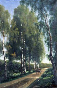 Finnish painter ~Ada Maria Thilen Painters, Finland, Country Roads, Artists, Female, Women, Women's, Artist, Woman