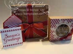 Holiday Packaging Ideas with Deb Valder and the new Envelope Punch Board www.stampladee.com