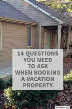 Ask these questions before giving AirBnB or VRBO your money.