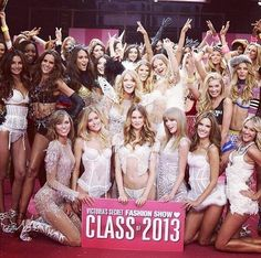 Taylor Swift at Victoria's Secret Fashion Show...Class of 2013