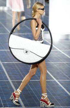 is this the biggest bag ever women will never have to complain about not having enough room in their arm candy again chanel ss13