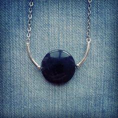 Black Onyx Necklace by MarleeCWatts on Etsy