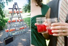 Pre-Mixed Mason Jar Cocktails / 37 Things To DIY Instead Of Buy For Your Wedding (via BuzzFeed)