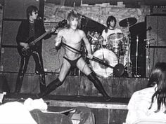 Iggy and the Stooges, 1974.