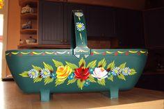 Photo by Julie Clark Canal Boat Art, Julie Clark, Milk Churn, Narrow Boat, Boat Painting, Rose Art, Metal Crafts, Bohemian Gypsy, Castles