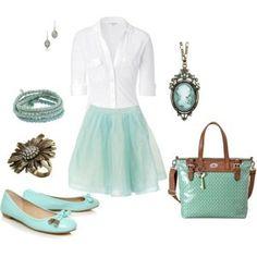 Tiffany Blue Fashion