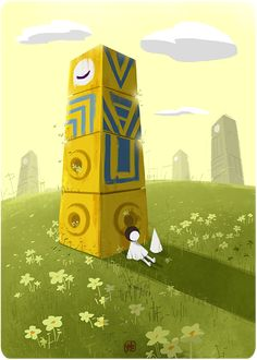 chouling:  Ida and Totem at rest.This is probably the most creative game I've…