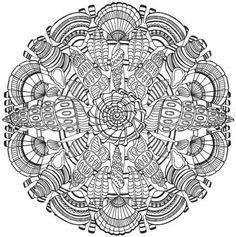 Creative Haven Wondrous Nature Mandalas A Coloring Book