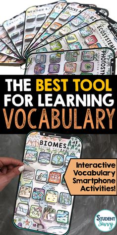 The Best Teaching Tools for Learning Vocabulary!