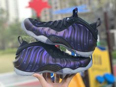 "purchase cheap 17a90 a0aa4 Nike Air Foamposite One ""Eggplant"" Varsity Purple Black 314996-008"